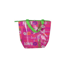 Fashion best laminated non woven bag thermal lunch cooler bag