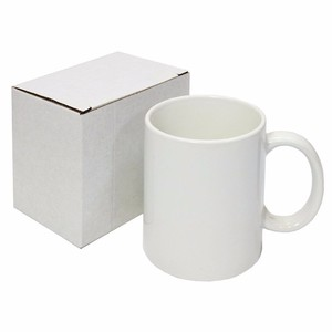 Top Grade AAA Quality Blank JS Coating 1702 Cup Tyre11oz White Mug for Sublimation Wholesale