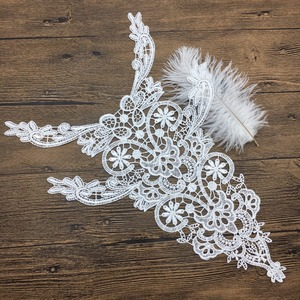 OLN15115-3 Special design hand neck embroidery design for sarees border