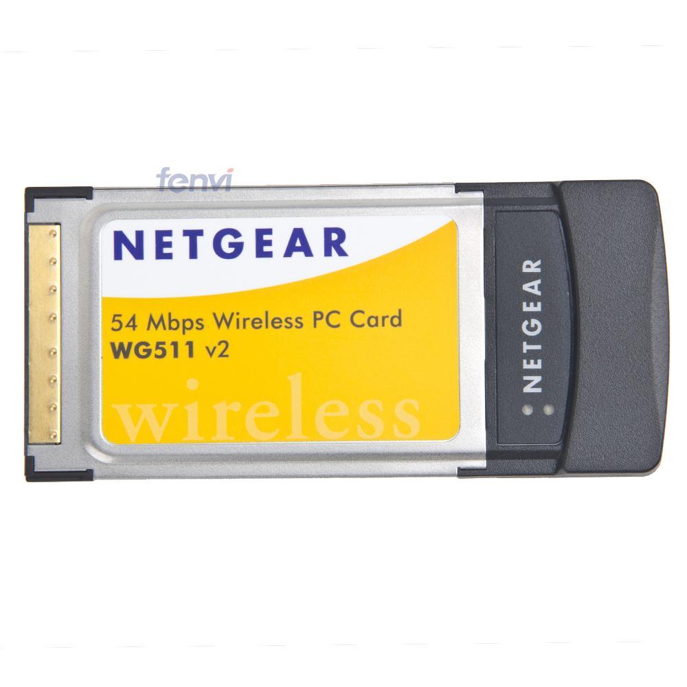 Netgear wg511 54 mbps wireless pc card