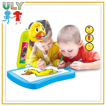 top selling painting toy projector painting toy 3 in 1 kids drawing