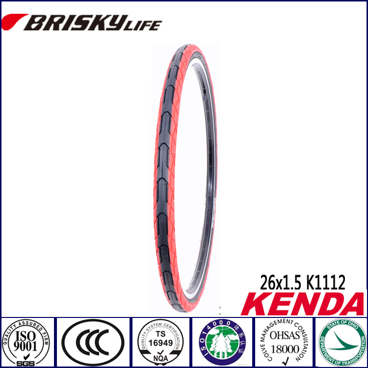 "Kenda bicycle tires 26 "" red color mountain bike tires"