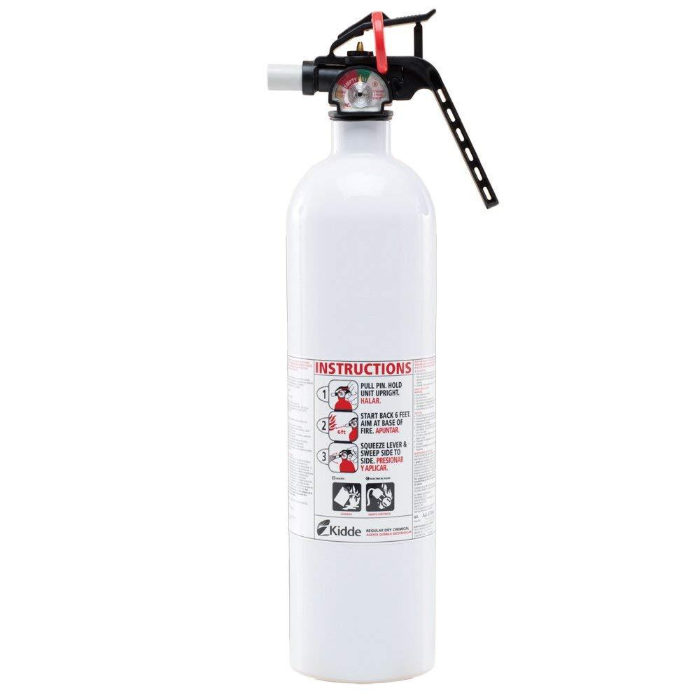 21008634 Kidde 10-B:C Auto/Marine Fire Extinguisher. New METAL VALVE