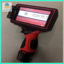 pipes, metal, plastic, aluminum foil Continuous Expiry Date Batch Code Handheld Ink jet Printer headheld inkjet printer