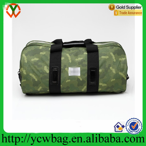 Widemouth rolling Duffle backpack camouflage travel bag