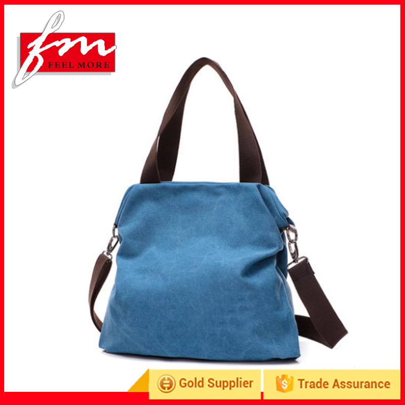 Outdoor Sports Colorful Lady Shoulder Handbags Fashion Tote Travel Bags for Girls