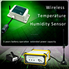 On-line Temperature and humidity Control wireless sensor alarm