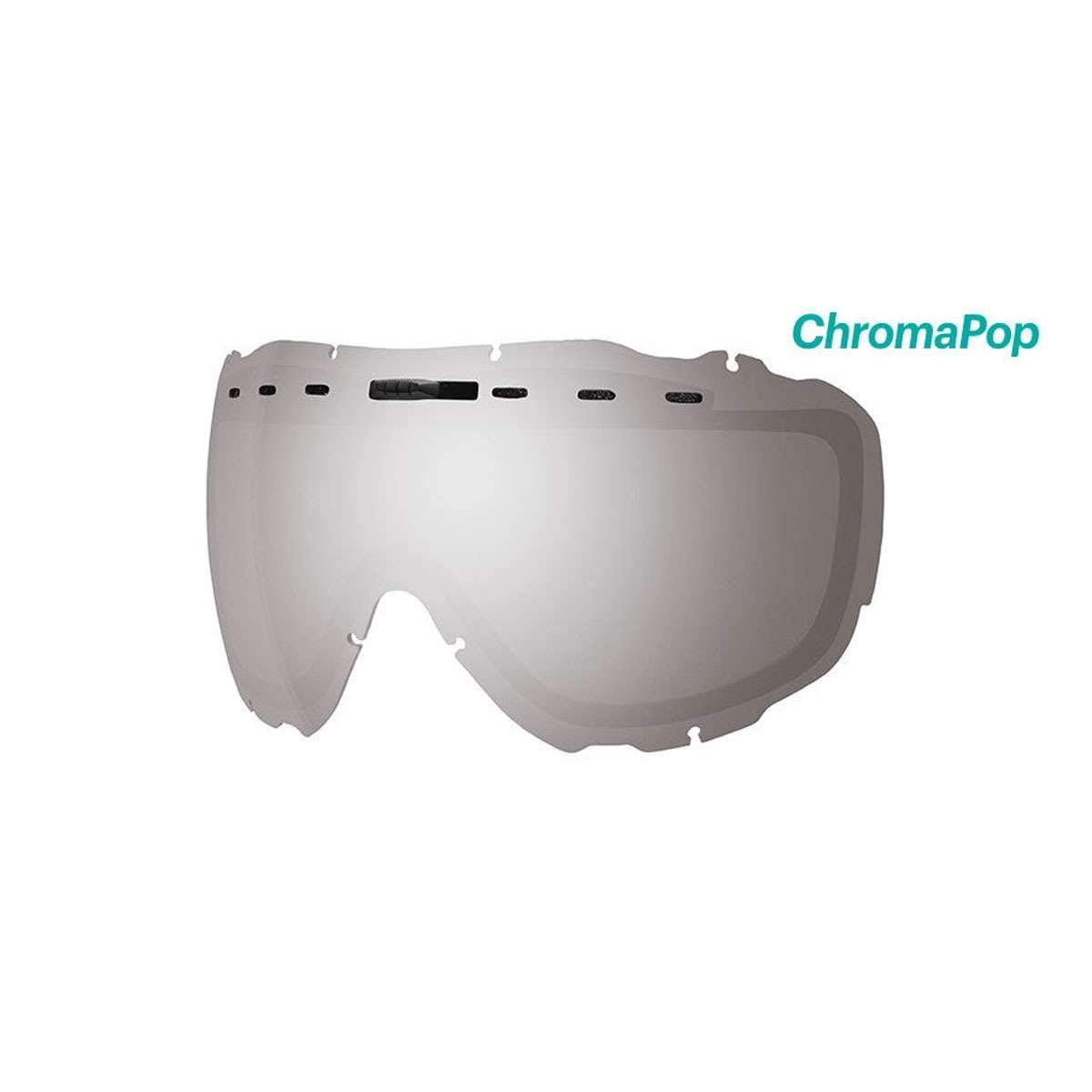 eb7b1eab94 Get Quotations · Smith Optics Prophecy OTG Adult Replacement Lense Snow  Goggles Accessories - Chromapop Sun Platinum Mirror