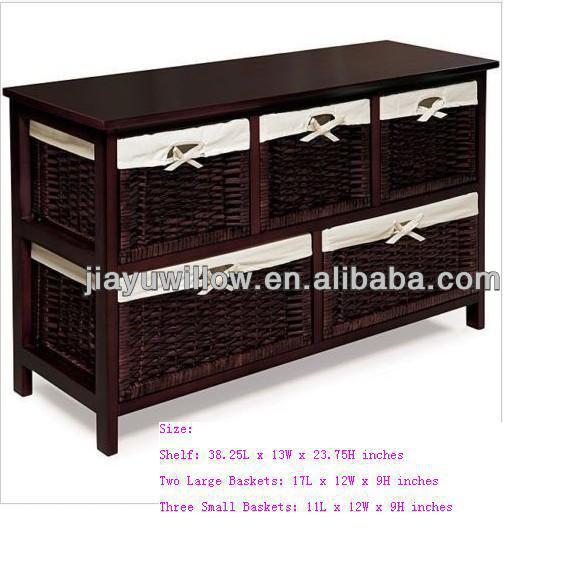 Wicker Basket Drawers Wooden Cabinet, Wicker Basket Drawers Wooden Cabinet  Suppliers And Manufacturers At Alibaba.com