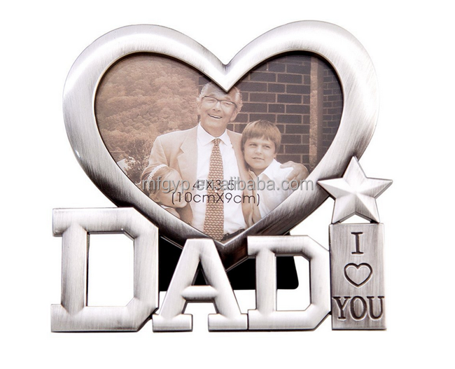 Sweet gift Fathers Day or Birthday Gifts Classic Aluminum Photo Frames