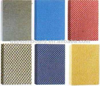 Fabric Acoustic Panel Soundproof And Fireproof Materials