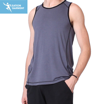 92637ae90d0cc4 Custom Made Men Activewear Wholesale Cotton Gym Running Singlets - Buy Custom  Gym Singlets
