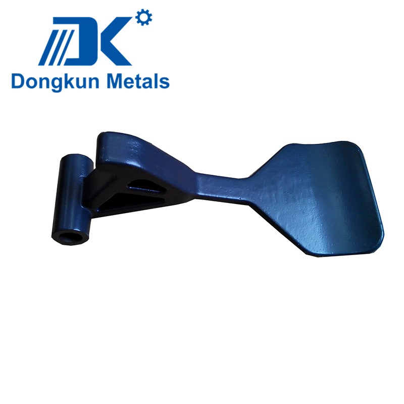customized steel machine handle with painted