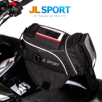 Customized Black Magnetic Small Tank Bag Motorcycle Bag