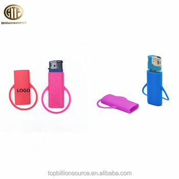 Buy online custom cheap colored silicone cigarette holder lighter cover