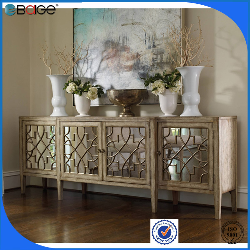 Australia Furniture antique elegant wood cabinet