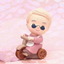 Милая старая пара украшения для кукол изделия из смолы креативная старая пара модель свадебного стола украшение для дома аксессуары подарк...(Китай)