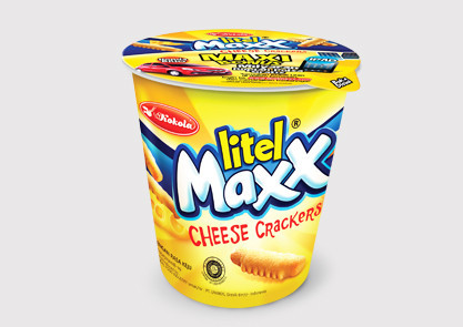 Litel Maxx Cheese Crackers 45 gr