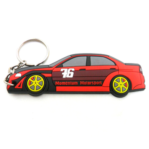 keychain adult metal zinc pvc soft embossed custom logo personalized keychain pvc rubber soft 3d car
