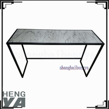 Cheap modern marble effect wood console tables