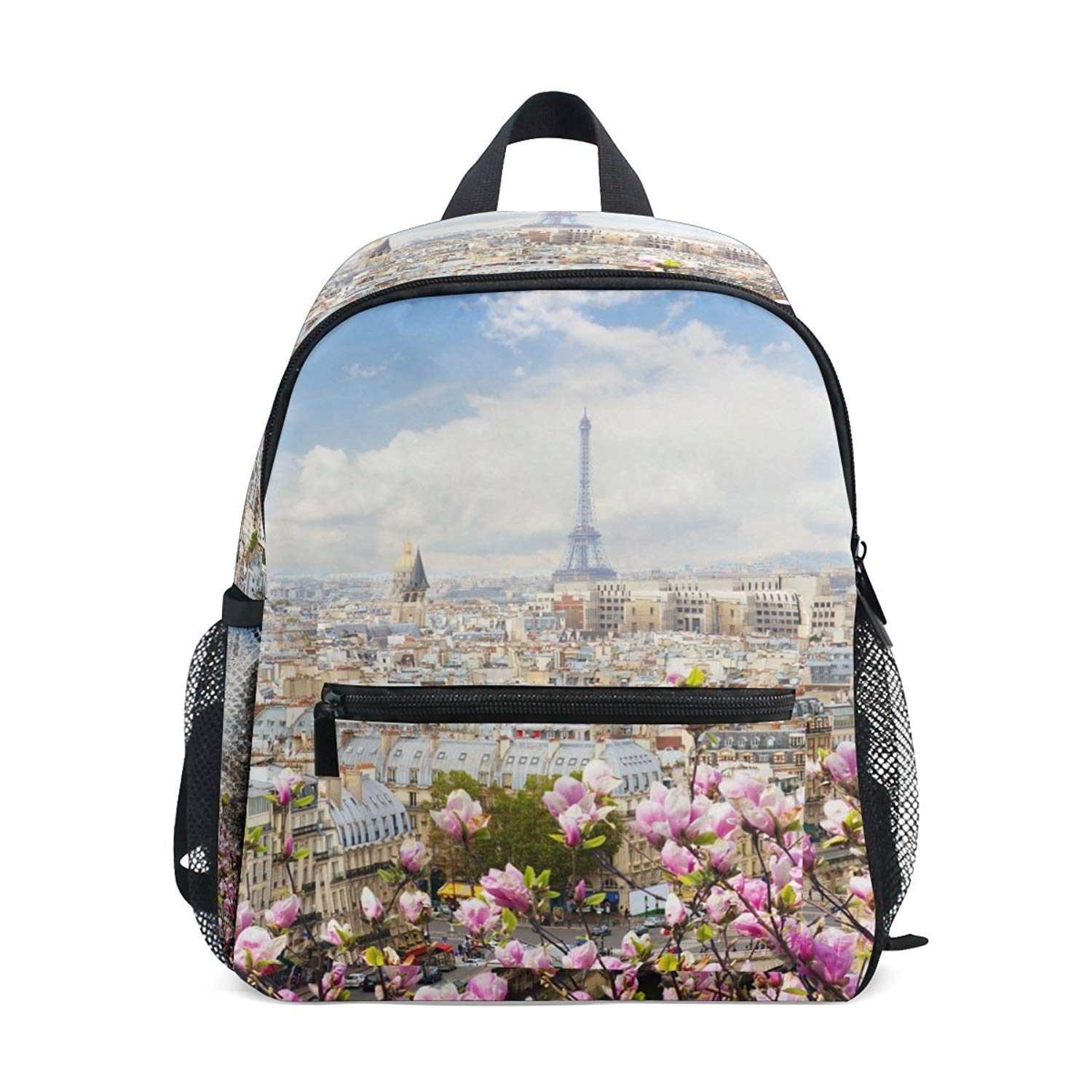 8e3cab62f081 Get Quotations · ColourLife Kids Book bag Skyline Of Paris City Roofs Backpack  School Bag for Girl Boy