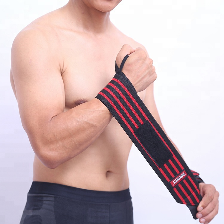 Factory custom different colors good price wrist wraps <strong>weight</strong> lifting