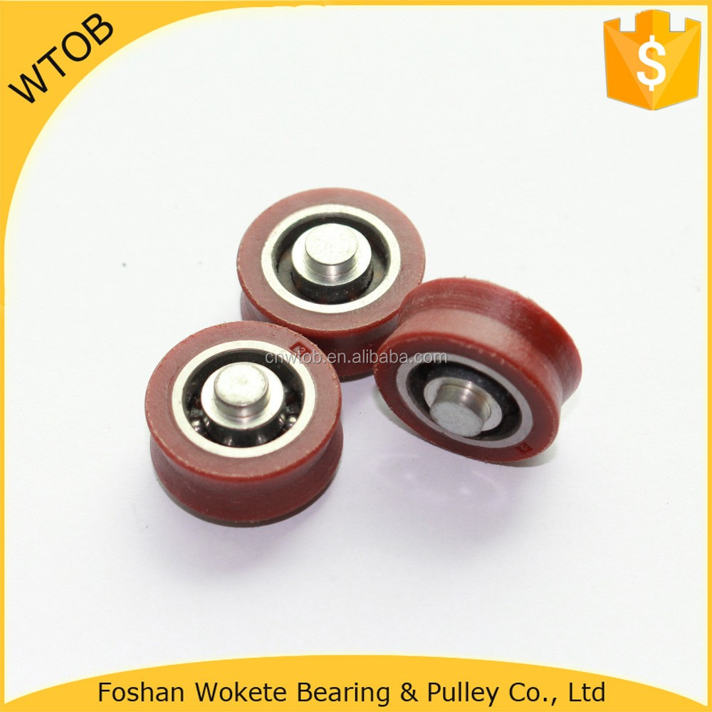 Trade Assurance Rubber Wheels Roller Ball Pulley Wheels For Skateboard