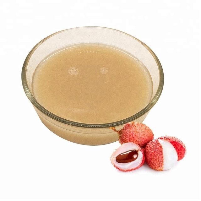 Lychee Juice Concentrate In Brix:30+/-2% in drum packing