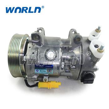 12 Volt Ac Auto Air Conditioning Compressor 6c12 For Peugeot Citroen 307 207 206 308 Ranch