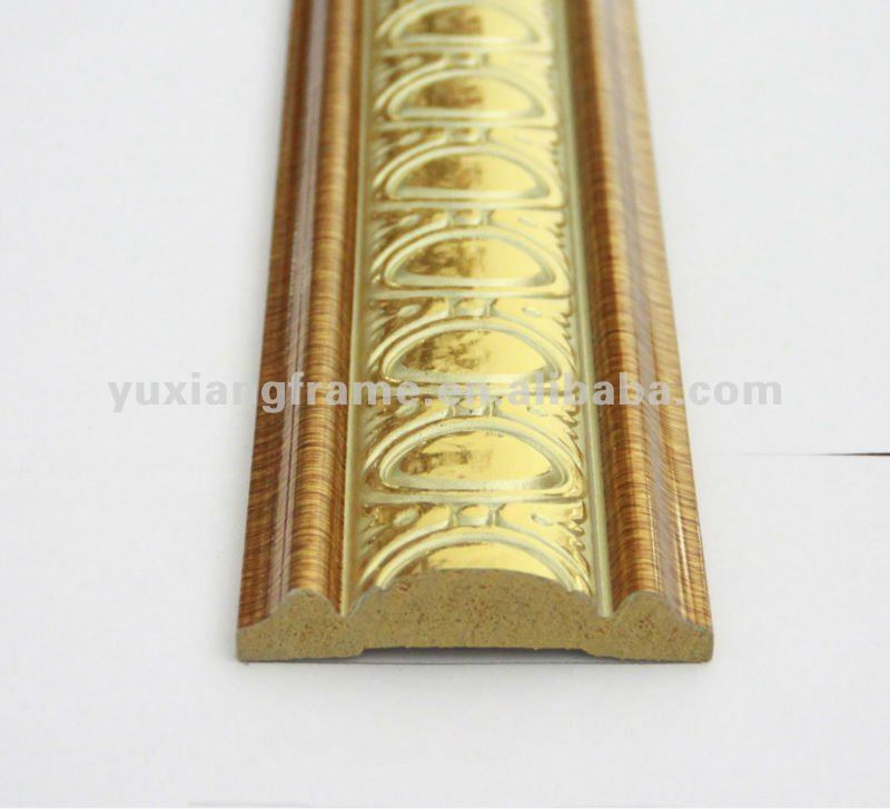 Gold Foil Frame Moulding, Gold Foil Frame Moulding Suppliers and ...