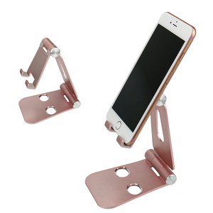 Universal Portable Aluminum Alloy Tablet PC Desk Stand for iPad Folding Multi-angle Holder For Cell Phone