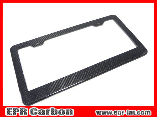 High Quality Carbon Fiber License Plate Frame