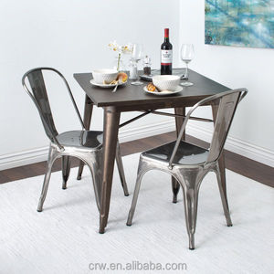 Galvanized Metal Chairs, Galvanized Metal Chairs Suppliers And  Manufacturers At Alibaba.com