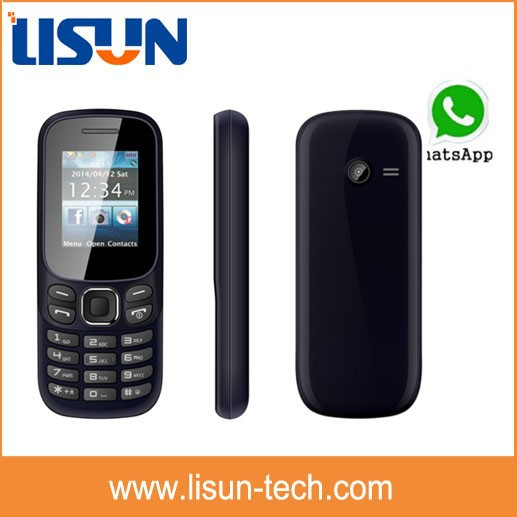 cheapest $7 unlocked gsm lastest China mini Cell phone 2 sim cards hot sell in South Africa