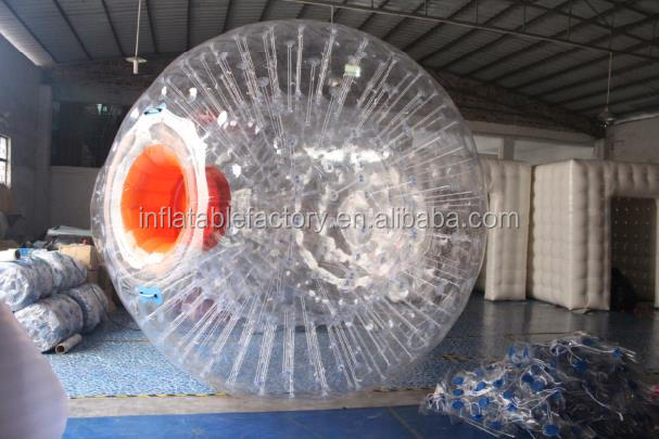 2.5m dia inflatable swimming pool toys water zorb ball for sale