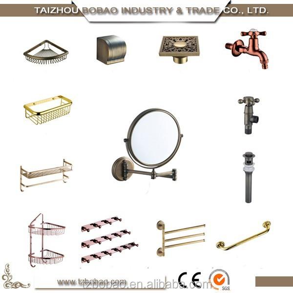 Fashion classic bronce porcelana sanitaria accesorios de for Accesorios bano bronce