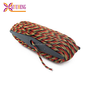 wholesale survival recycled rainbow pull cord rope