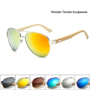 New High Quality Men/Women Bamboo Sunglasses Wooden Outdoor Sunglass
