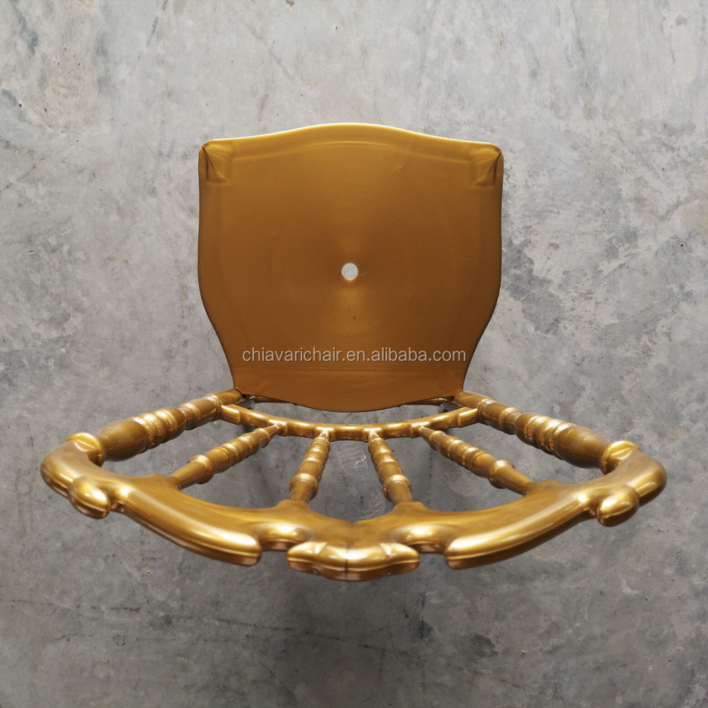 China PC Big Chair/ gold chair/ Gold royal hair with cushion