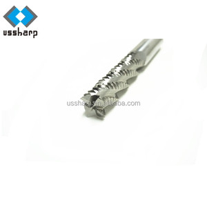 High Quality 4 Flute Roughing HSS-E End Mills