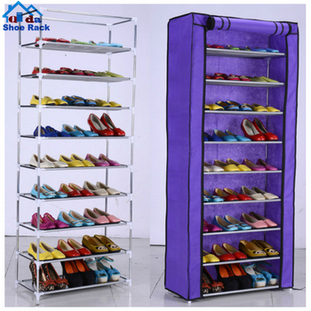 oxfords fabric 30 pairs high shoe cabinet