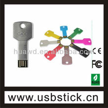 Key shape usb,usb flash drive customized logo