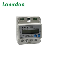 LOVADON DDS238-4 W ประเภท multi - function Trade Assurance WIFI เมตร single phase smart energy meter