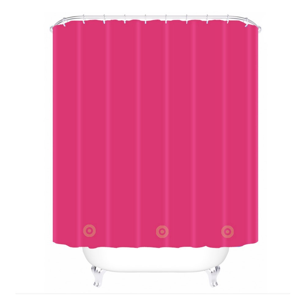 Cheap Solid Pink Shower Curtain Deals