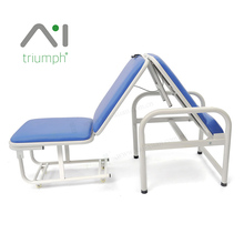 Triumph Folding Transformable Hospital Accompany Attendant Chair Cum Bed
