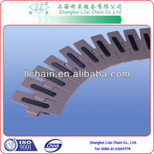 conveyor chain with RUBBER attachments