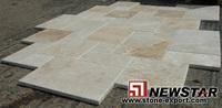 Versailles pattern Travertine stone paver