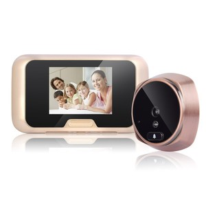 Low price home video peephole with 1.3MP camera viewer