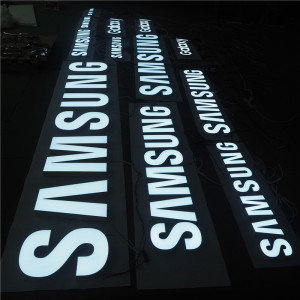 Fashion acrylic signs gold supplier custom led sign stainless sign