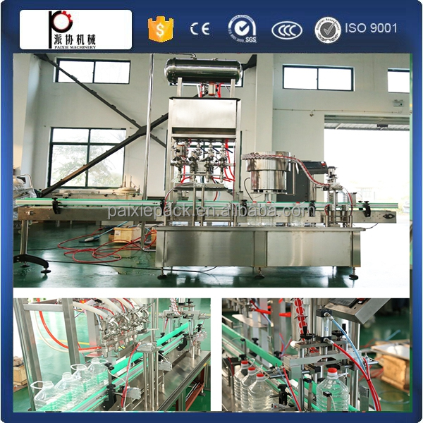CE approval argan oil vegetable oil filling machine automatic plastic bottle filling line in factory price